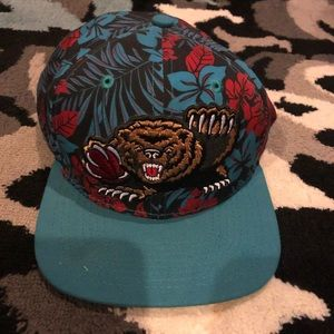 New era blue tropical bears SnapBack